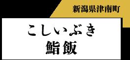 新潟県津南町 こしいぶき寿司飯