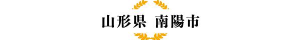 【山形県 南陽市】