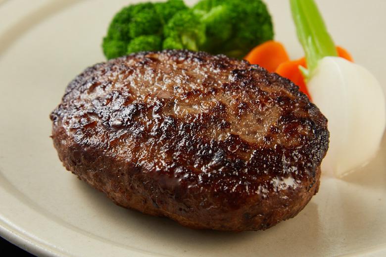 有田エモー牛の手ごねハンバーグ