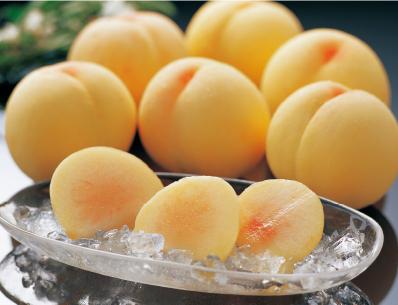 大玉で糖度が高い白桃系
