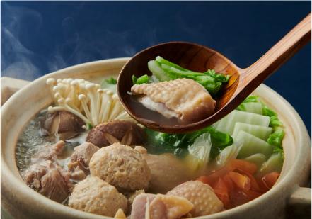 福岡県福智町  鶏の水炊き