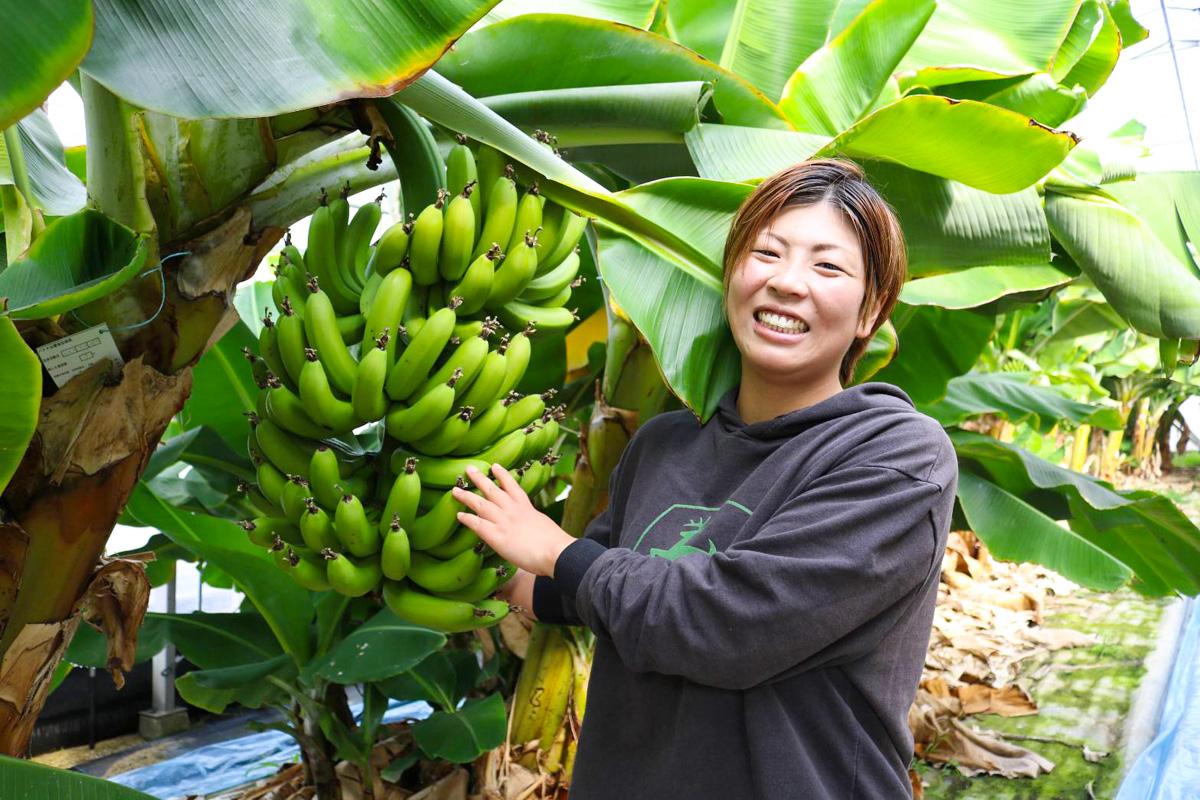 バナナの魅力に惚れ込んだ七代目