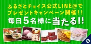 第2弾ふるさと納税大感謝祭in大阪開催記念!!ふるさとチョイスLINE@プレゼントキャンペーン