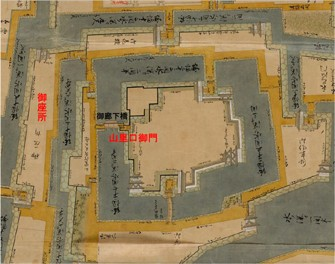 福井城周辺拡大図