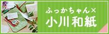リンク:素朴であたたかみのある「小川和紙」