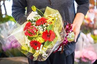 花き関連事業者のお礼の品で応援する