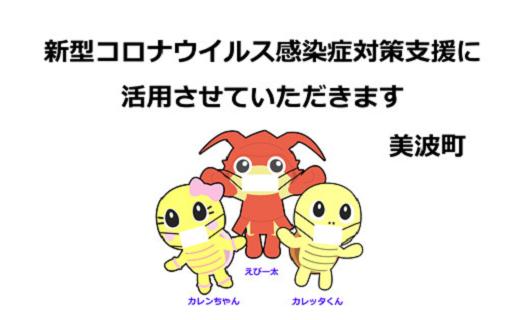 徳島県美波町 新型コロナウイルス感染症対策支援に関する事業