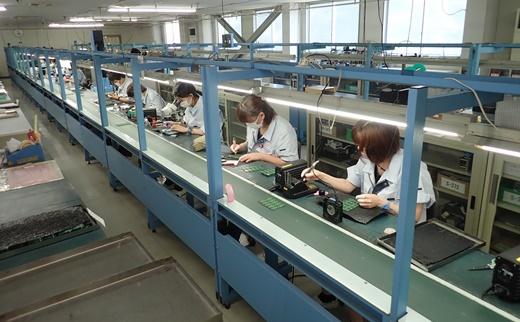 山形県米沢市 電子機器の生産者