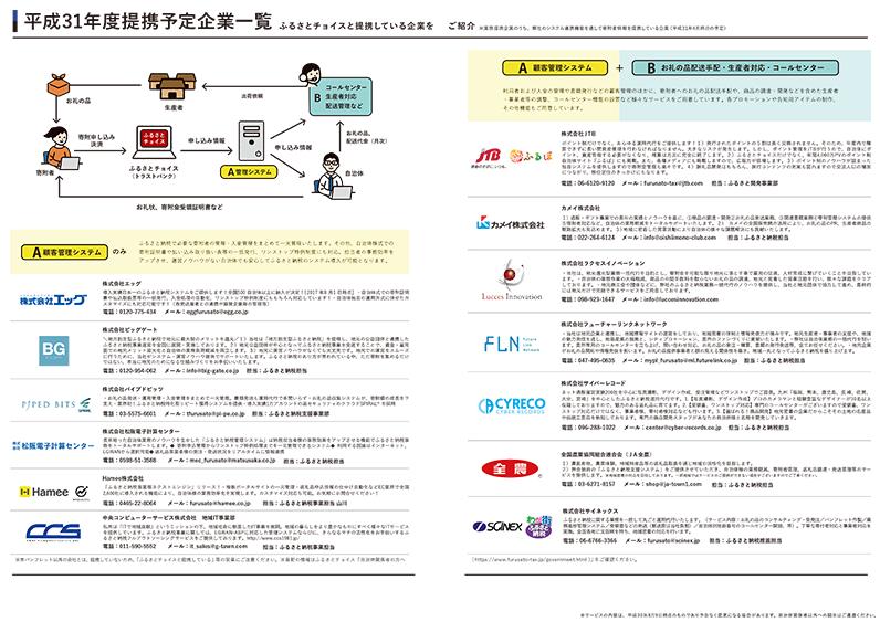 提携企業のリスト