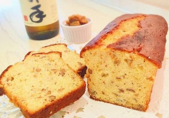 臼杵市:味噌とくるみのパウンドケーキ