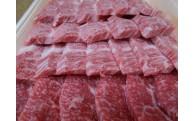 極上黒毛和種 宇部牛焼肉用カルビ肉