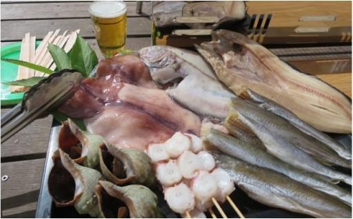 行楽シーズンにおススメ!オホーツク海鮮BBQセット☆彡