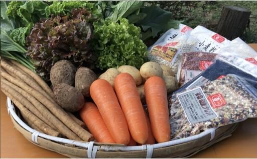 ★霧島の大自然で育った有機野菜と有機雑穀をご賞味ください★