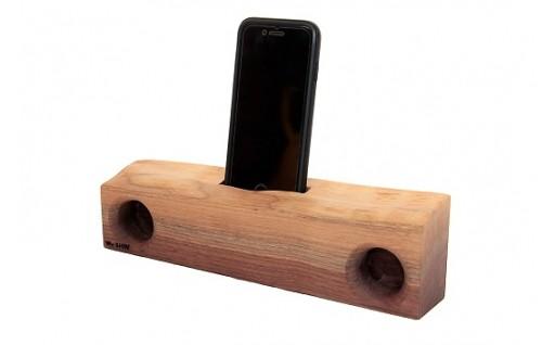 耳付き木製スピーカー「KIKOE」