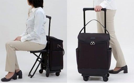 椅子付きキャリーバッグのお知らせです。