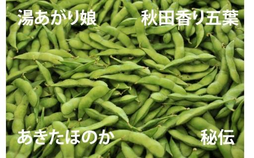 夏はやっぱり 枝豆でしょ!