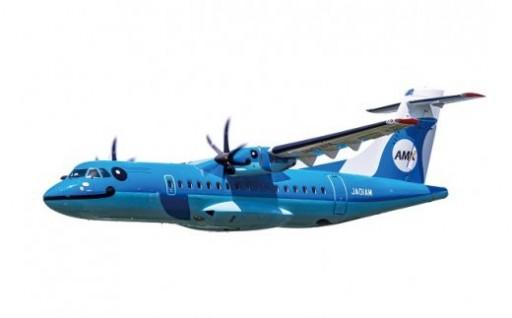 天草エアラインが運行する、イルカの飛行機で行くあまくさ空の旅