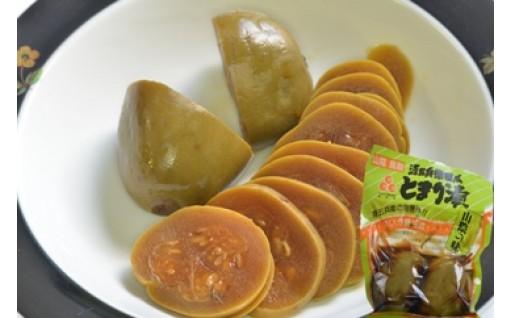 湯梨浜を代表する特産品 スイカの漬物「とまり漬」