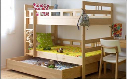 子どもの想像力を高める秘密基地・2段ベッド