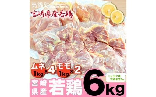 宮崎県産 若鶏 6kgセット
