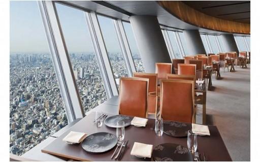 東京スカイツリーの展望デッキでお食事しよう!記念日におすすめ
