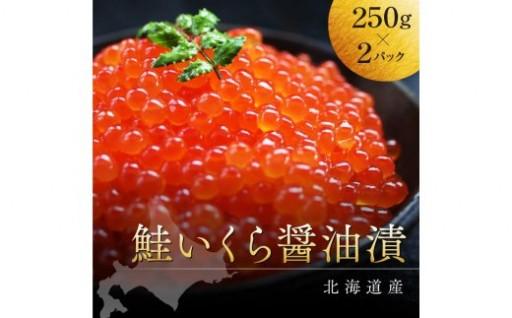 平成30年産★新物★新鮮直送!鮭いくら醤油漬500g