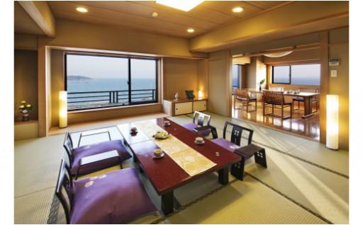 豪華に特別室で過ごす、竜宮ホテルペア宿泊券