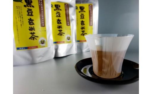 宮代町産黒豆使用の黒豆茶