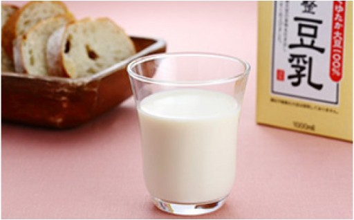 朝倉市にあるふくれん甘木工場から大豆成分無調整豆乳をお届け