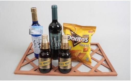 日本とスペイン・メキシコを繋ぐ3国友好酒セット
