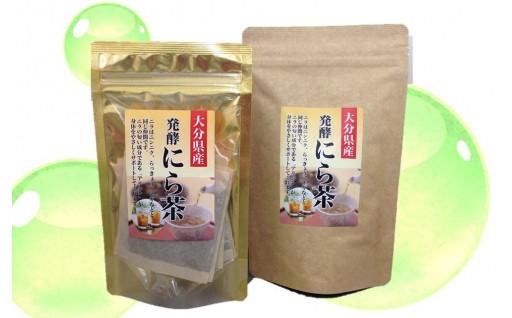 【発酵にら茶】 でスタミナ作りを