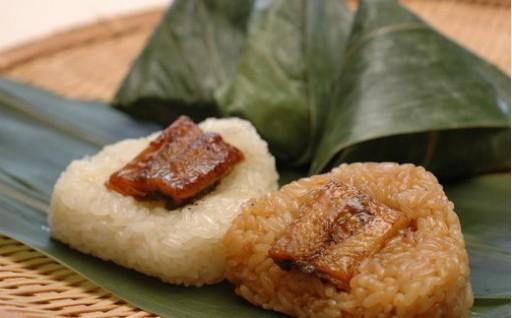 四万十黒餅米使用 地然うなぎちまき タレ・塩(計6個)