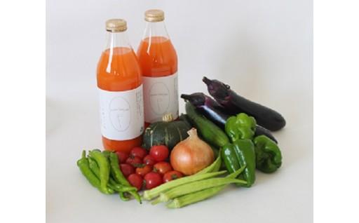 ★若葉農園の野菜と人参ジュースのセット★
