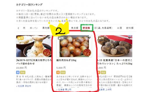 【全国野菜ランキング2位】越冬用たまねぎ!