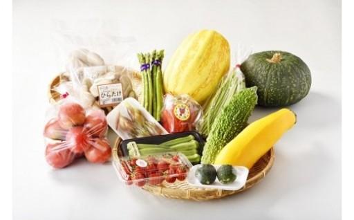 旬の野菜をお届け!★益田市野菜詰め合わせセット★