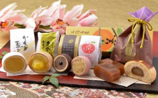 さいとう製菓 かもめの玉子詰合せ【玉手箱】6種10品
