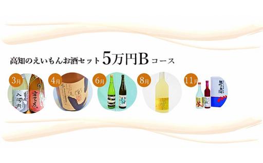 【20セット限定】高知のえいもんお酒セット5万円Bコース