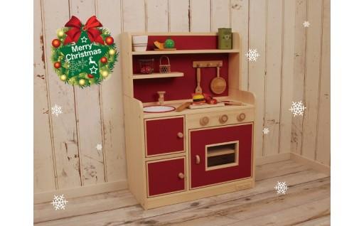 クリスマスプレゼントに最適!職人技が光る「ままごとキッチン」