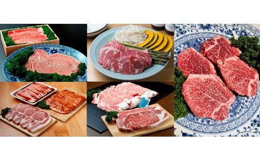 12月まで受付!定期便【人気返礼品+1!】上田の肉三昧セット