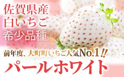 佐賀県産 白いちご「パールホワイト」