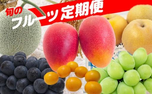 【数量限定】食材の宝庫・小林市から極上フルーツを定期便で!