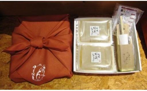 柿田川名水ところてん6食とひのきつき棒セット 贈り物にも最適