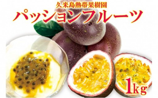 【2019年発送】熱帯果樹園直送!パッションフルーツ 1kg
