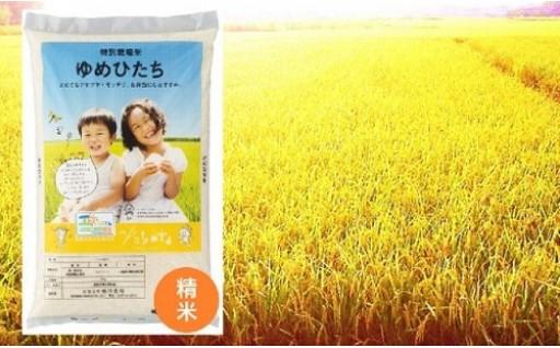 冷めてもおいしい茨城のお米「ゆめひたち」5kgです。