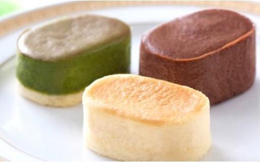 佐賀でうわさのなめらか極上チーズスフレ!(3種)