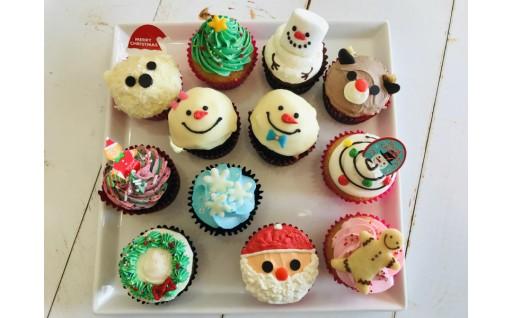 【期間限定】クリスマスにカップケーキはいかがですか?