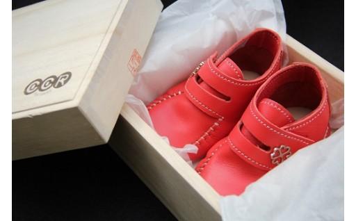 靴職人手作りのファーストシューズ「COCORO」