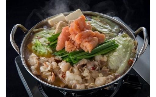 大好評!寒い日に、本場福岡の明太もつ鍋はいかが??