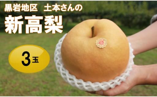 【土本さんの新高梨!】赤ちゃんの頭程の巨大梨をご賞味あれ!