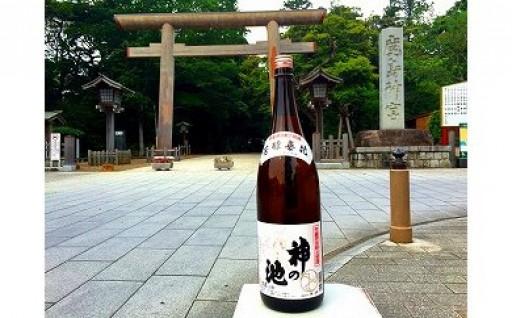 C-8 鹿島神宮献上酒 上撰神の池
